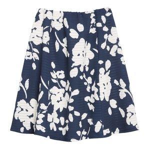 Lidia Printed Swing Skirt